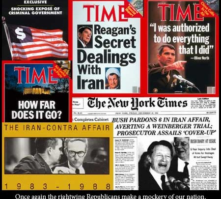 The Enemy Within the Gates: A brief History of the Iran-Contra and Iraqgate Scandals